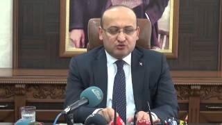 Sanlıurfa Basbakan yardımcısı Akdoğan Valilik ziyareti