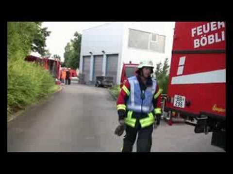 Übung Umweltschutzzug Böblingen Süd