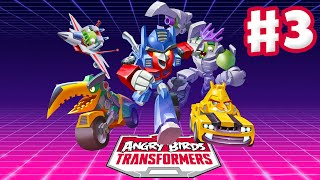 Angry Birds Transformers - Gameplay Walkthrough Part 3 - Bludgeon Rescue! (iOS)