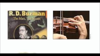 Kasme Vaade Nibhayenge Hum - Violin