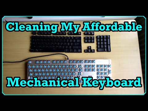 "Cleaning My Affordable Mechanical Keyboard (I Guess A ""How-to"")"