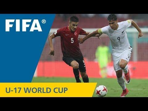 Match 3: New Zealand v Turkey – FIFA U-17 World Cup India 2017
