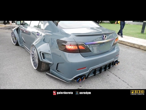 SUPER WIDEBODY FENDERS TOYOTA CAMRY - Race Day Thailand 2017