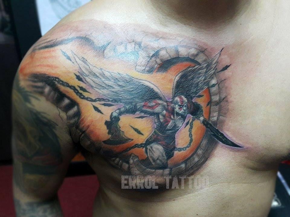 Kratos Tattoo Youtube