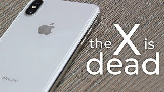 The Death of the iPhone X