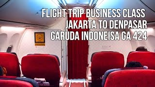 Flight Trip Business Class to Bali | Garuda Indonesia