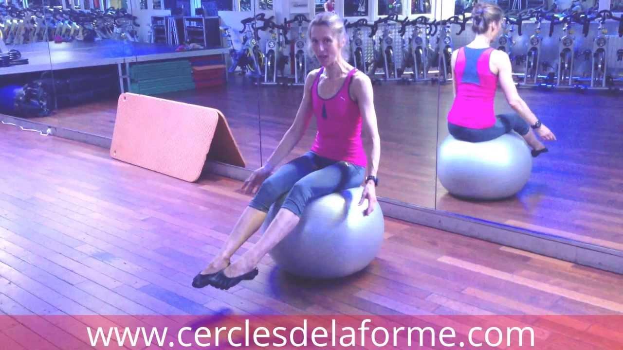 Très Exercice 2 de Pilates avec Ballon proposé par Astrid au Cercle  IU85