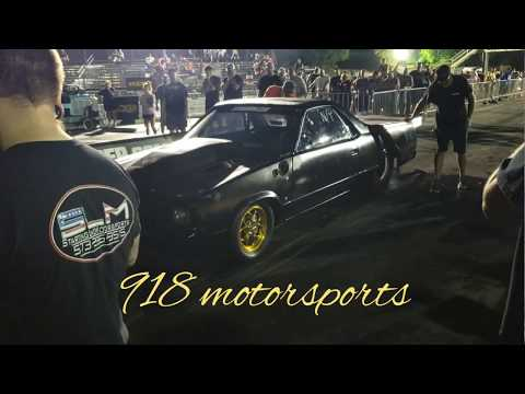 Outlaw armageddon  Fire breathing elco  of kamikazee chris from street outlaws