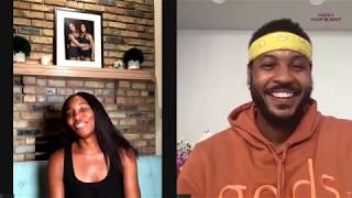 Venus Williams on Equality, Olympics & Quarantine Workouts | What's In Your Glass | Carmelo Anthony