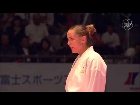 Alizee Agier vs Elena Quirici - Final Female Kumite  -68Kg (Premier League Tokyo 2018)