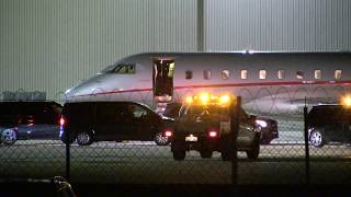 'Celine Dion steps off private jet at 4am wearing sunglasses ' 25/7/18