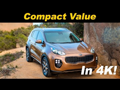 2017 Kia Sportage Review and Road Test - DETAILED in 4K UHD!