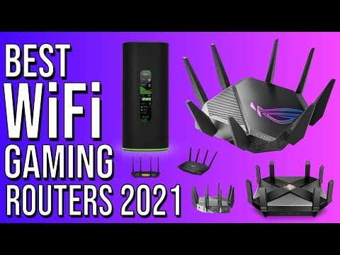 BEST WiFi GAMING ROUTER 2021 | TOP 5 BEST ROUTERS - WiFi 6 \u0026 6E WIRELESS GAMING ROUTER