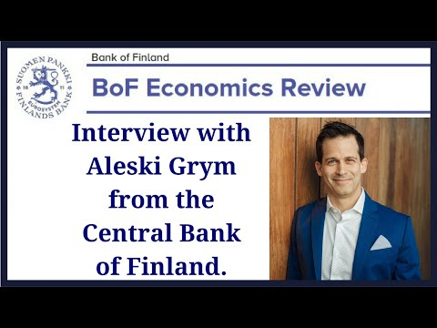 Live Interview Sunday 7/22 10AM PT with Central Bank of Finland