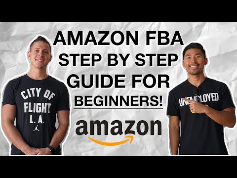 How to Sell on Amazon FBA for Beginners! EASY Step-by-Step Tutorial