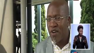 Ususabalele umfanekiso we-video obonisa kubanjwa inkunzi ithimba lezindaba lakwa-SABC.