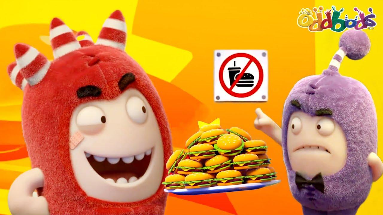 Download Oddbods | NEW | STREET FOOD | Funny Cartoons For Kids