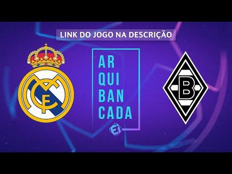 REAL MADRID X BORUSSIA MONCHENGLADBACH (NARRAÇÃO AO VIVO) - CHAMPIONS LEAGUE