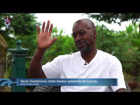 Teknik Direktörümüz Eddie Newton Trabzonspor Dergisi'ne açıklamalarda bulundu