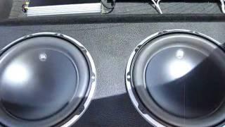 "2 12"" JL AUDIO W6's Flexin"