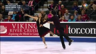 (No Commentary) 2016 U.S. Nationals: Maia Shibutani/Alex Shibutani FD (Overlaid Audio)