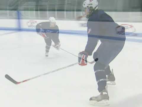 USA Hockey Skills and Drills - Forward to Backward: Mohawk Pivot