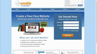 Weebly for Education Demo