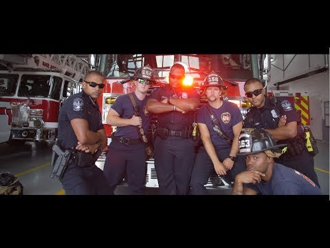 Police Uptown Funk  | Lip Sync Battle Challenge | Monroe Police & Fire Departments