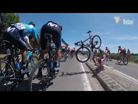 This Tour de France Crash Is a Good Reminder of How Gnarly Road Cyclists Are