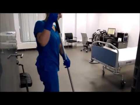 """Мытье полов - клининговая компания """"Бергамо"""""""