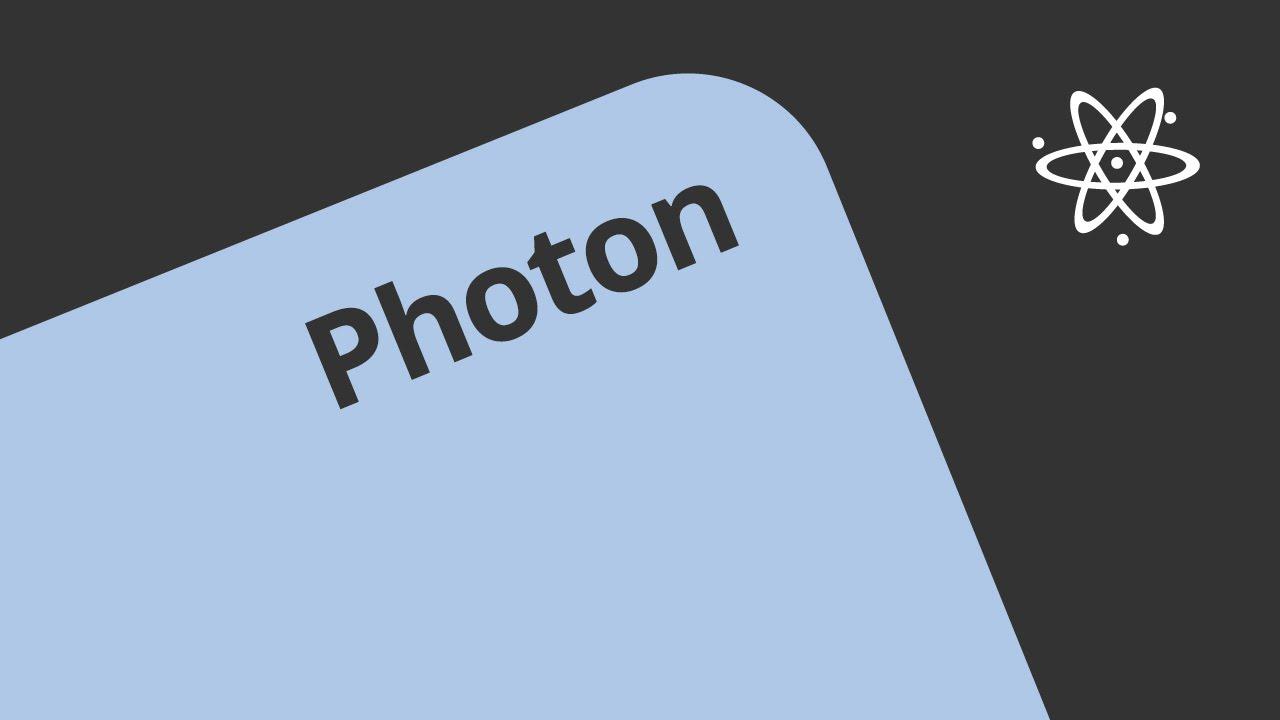 Photonen Masse