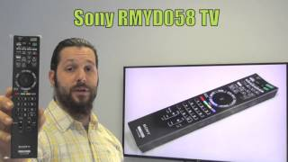 SONY RMYD058 TV Remote Control - www.ReplacementRemotes.com