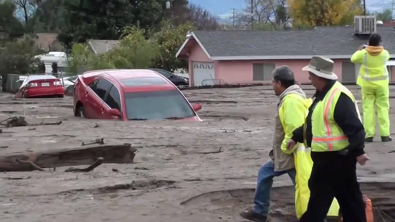 The Mini Flood Aftermath Highland California Eastern