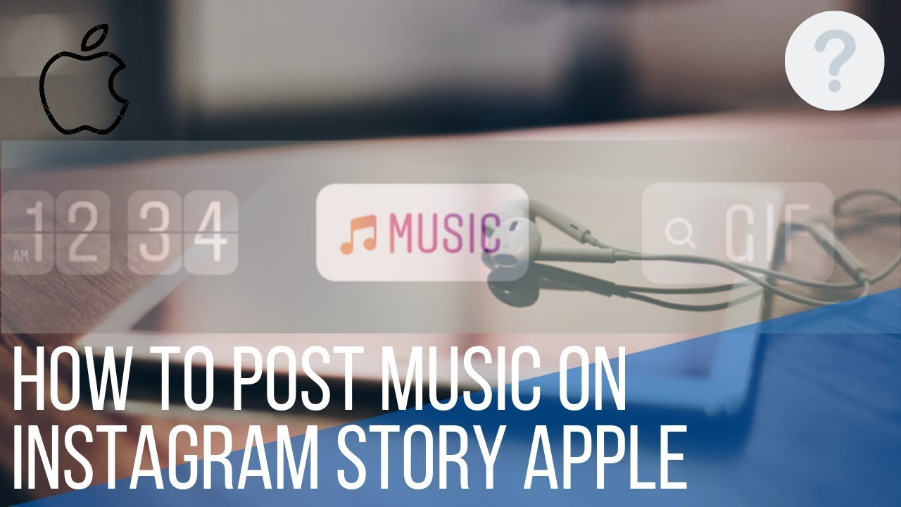How to post music on Instagram story Apple