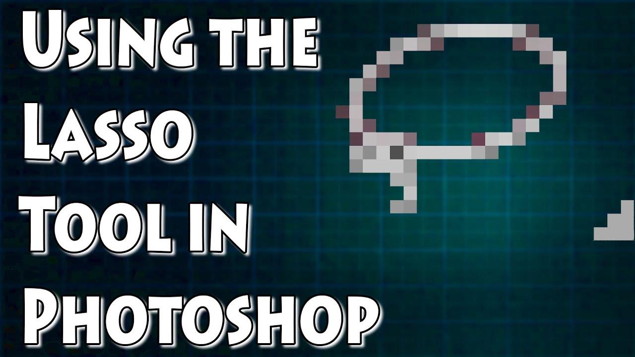 Adobe photoshop tutorial lasso tool youtube baditri Image collections