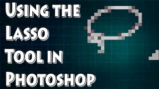 Adobe Photoshop Tutorial: Lasso Tool