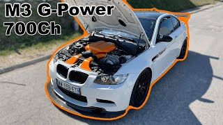 BMW M3 G-POWER 700HP : J'EN TREMBLE ENCORE 😨