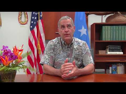 Robert Riley Video Address Chuuk Independence Movement