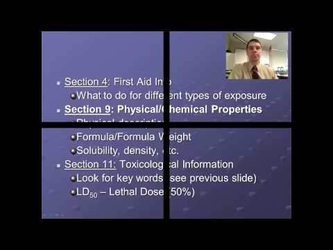 Introduction To MSDS