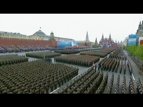 Rusya İkinci Dünya Savaşı'nın bitişini kutluyor