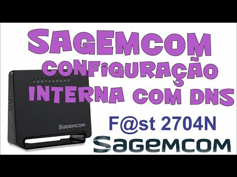 Configuração do modem Sagemcom com DNS - Internet Conecta