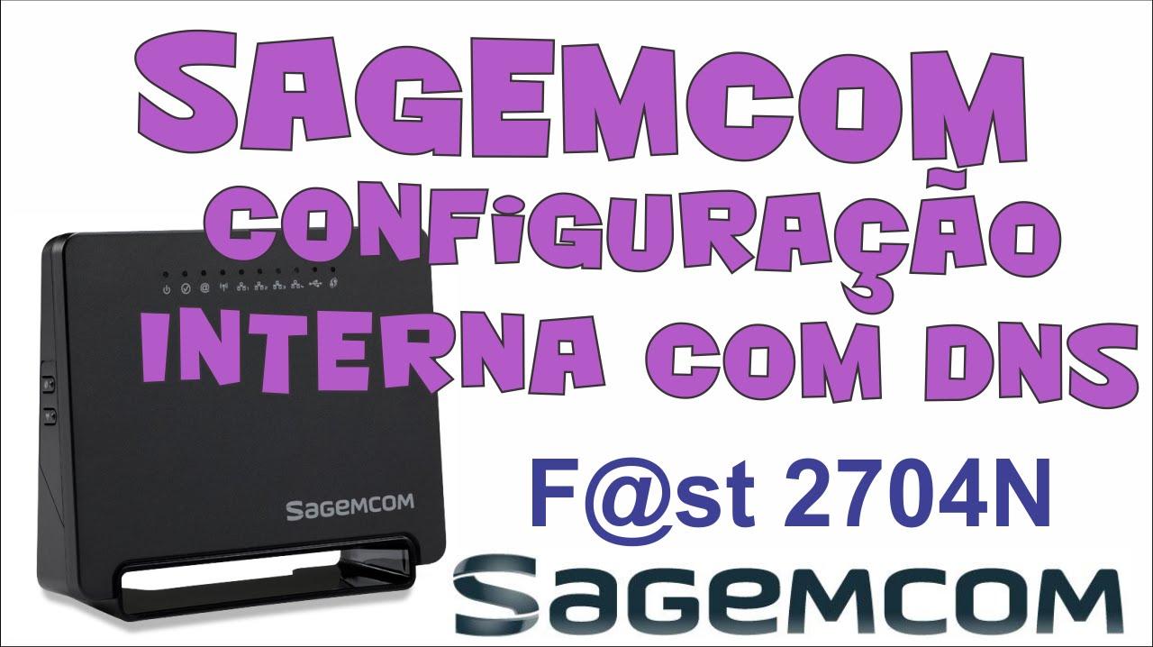 Configuração do modem Sagemcom com DNS - Internet Conecta mas não navega  [SOLUÇÃO]