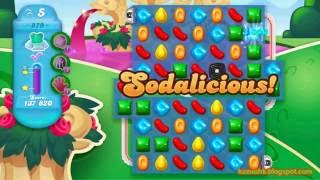 Candy Crush Soda Saga - Level 879 (3 stars, No boosters)