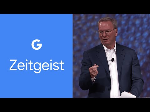 How we can use technology to build our dream society - Eric Schmidt, Zeitgeist 2016