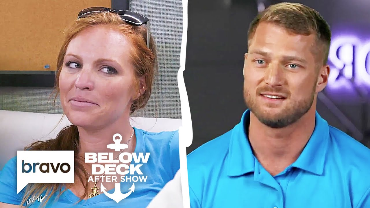 Download Rhylee Gerber's Thirst For Brian de Saint Pern Is Real   Below Deck After Show Part 1 (S7 Ep10)