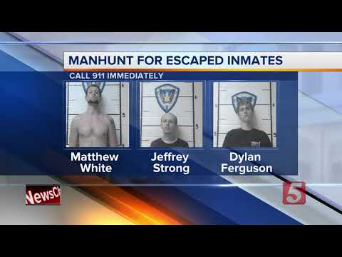 Search Continues For 3 Macon County Inmates
