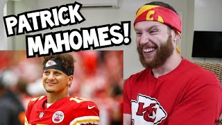 """Rugby Player Reacts to PATRICK MAHOMES """"Master Chief"""" Football Career Retrospective Video!"""