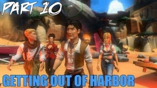 "Jack Keane 2 The Fire Within Walkthrough Part 10 ""Getting Out of Harbor"" Gameplay Playthrough PC"
