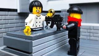 МУЛЬТИКИ про Полицию ЛЕГО   ОГРАБЛЕНИЕ ЮВЕЛИРНОГО  LEGO CITY