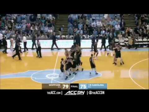 Wofford vs North Carolina College Basketball Condensed Game 2017